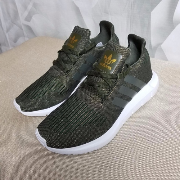 2868e65d52214 Adidas Swift Low Top Running Sneakers Shoes Olive